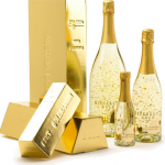 подарък златно шампанско 3